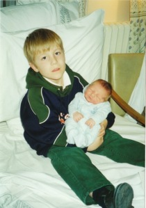 A very proud big brother!